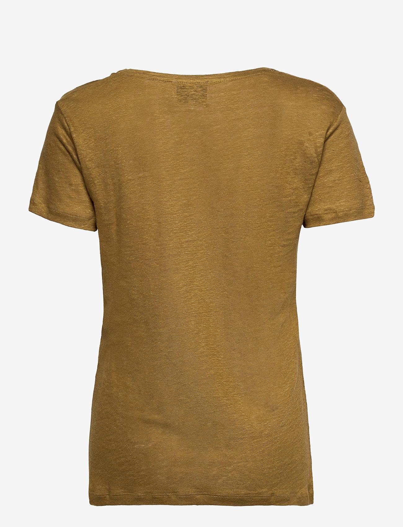 Second Female - Peony New O-Neck Tee - t-shirts - butternut - 1