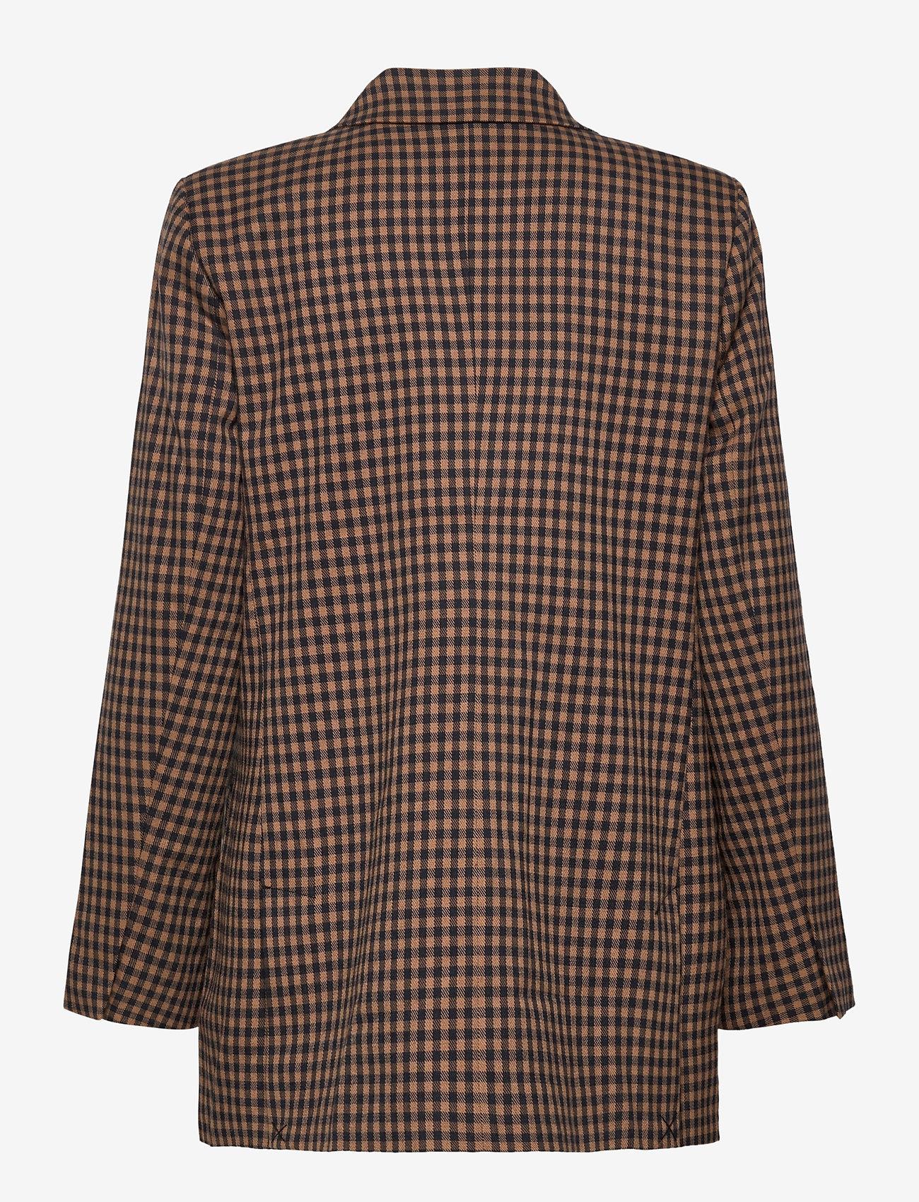 Second Female - Branley Blazer - oversized blazere - black - 1