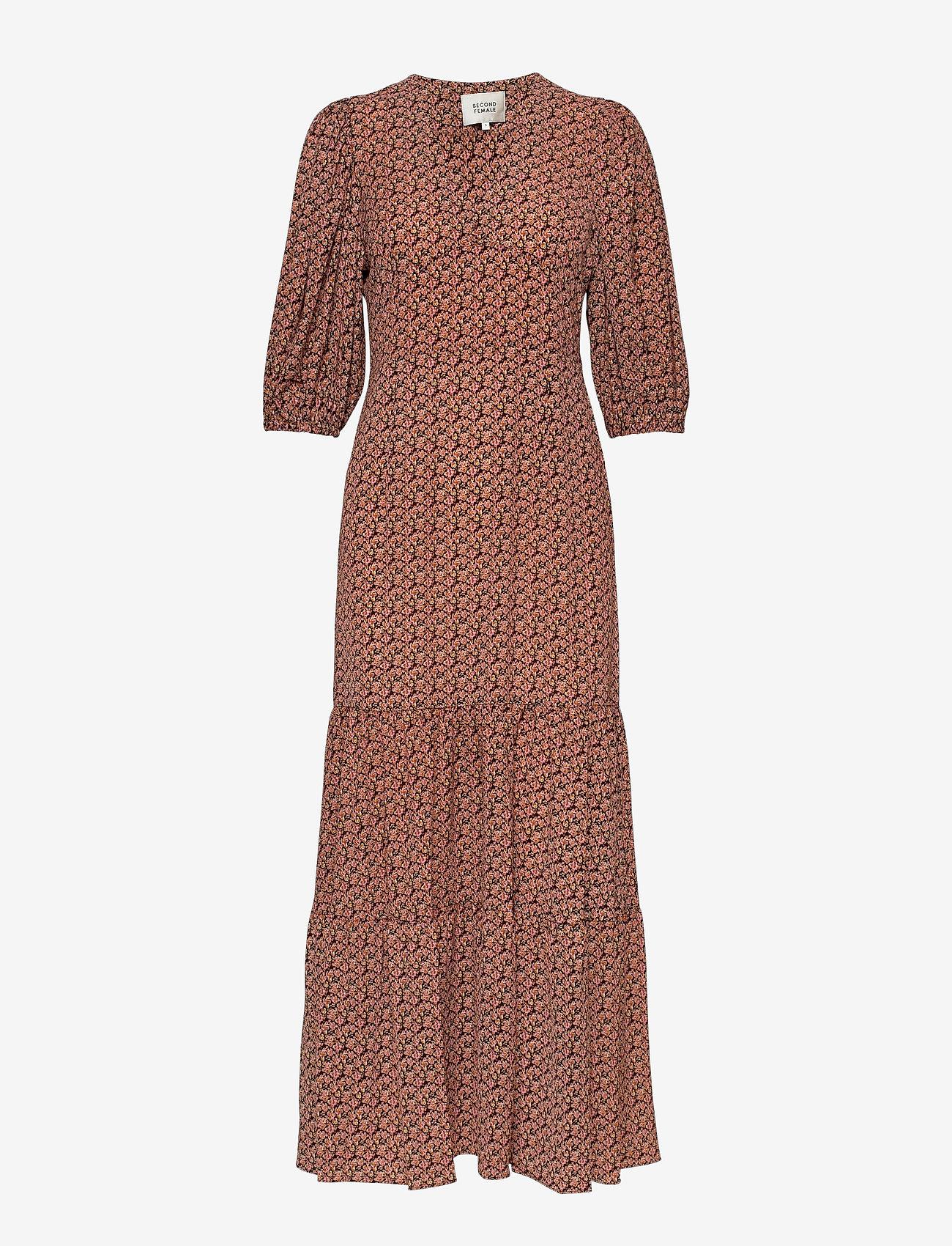 Second Female - Sandra Dress - maxi kjoler - marmalade - 1