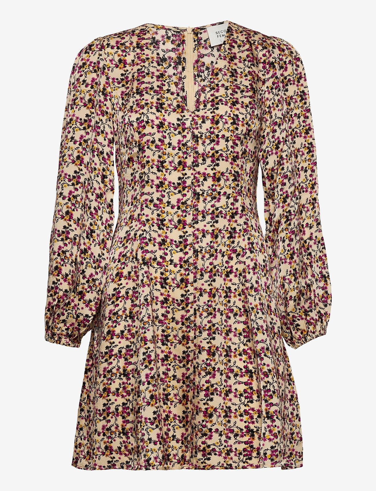 Second Female - Decor Dress - hverdagskjoler - marzipan - 1