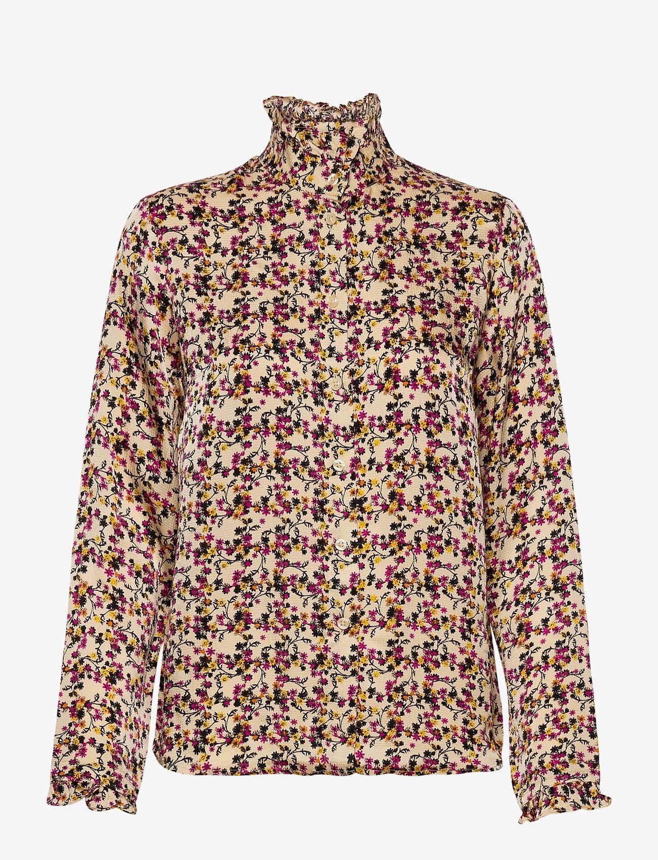 Second Female - Decor Shirt - langærmede bluser - marzipan - 1