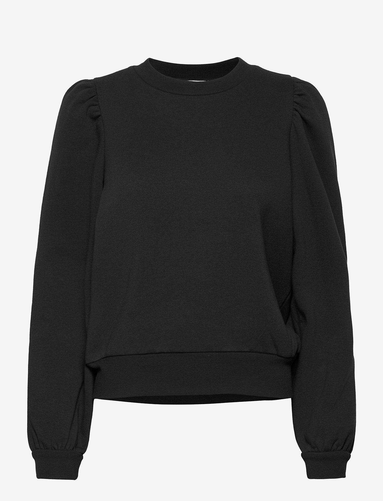 Second Female - Carmella Sweat - sweatshirts - black - 0