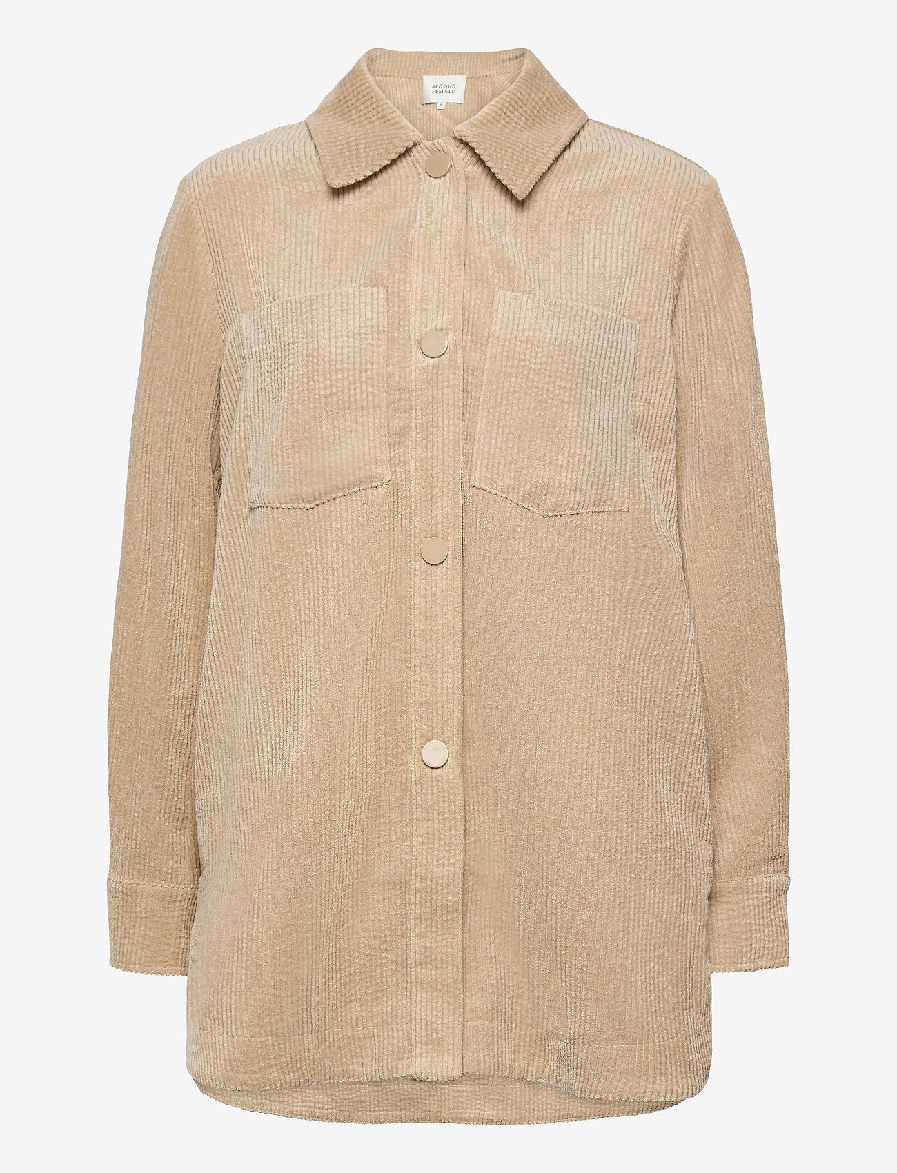 Second Female - Boyas Jacket - overshirts - humus - 1