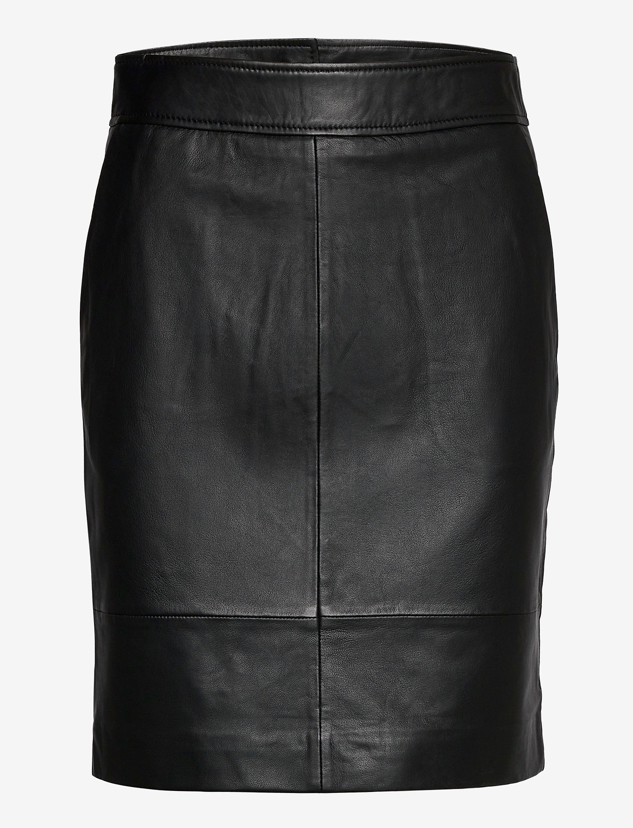 Second Female - Francie Mini Leather Skirt - pennkjolar - black - 0