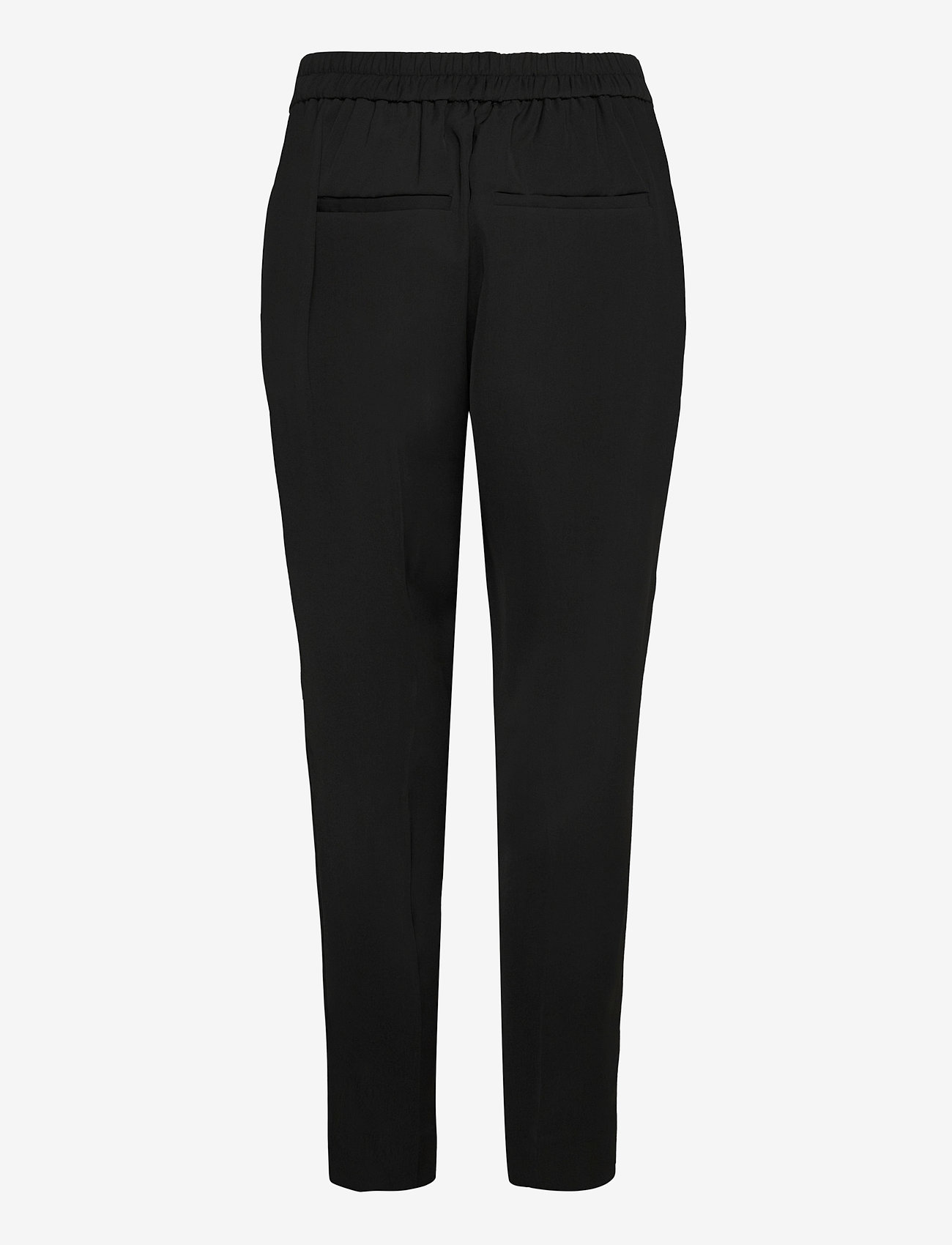 Second Female - Garbo Trousers - bukser med lige ben - black - 1