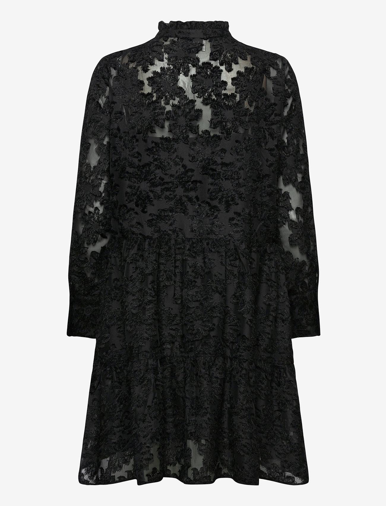 Second Female - Audrey Dress - cocktailkjoler - black - 1