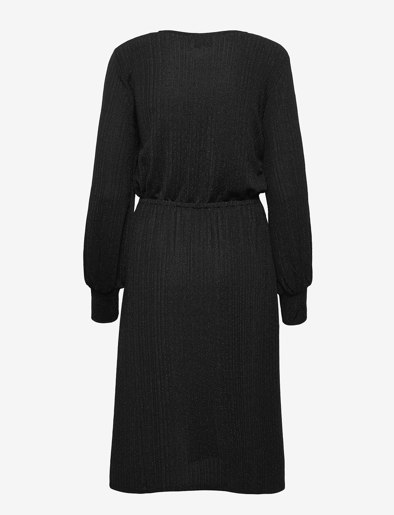Second Female - Zoe Dress - vardagsklänningar - black - 1