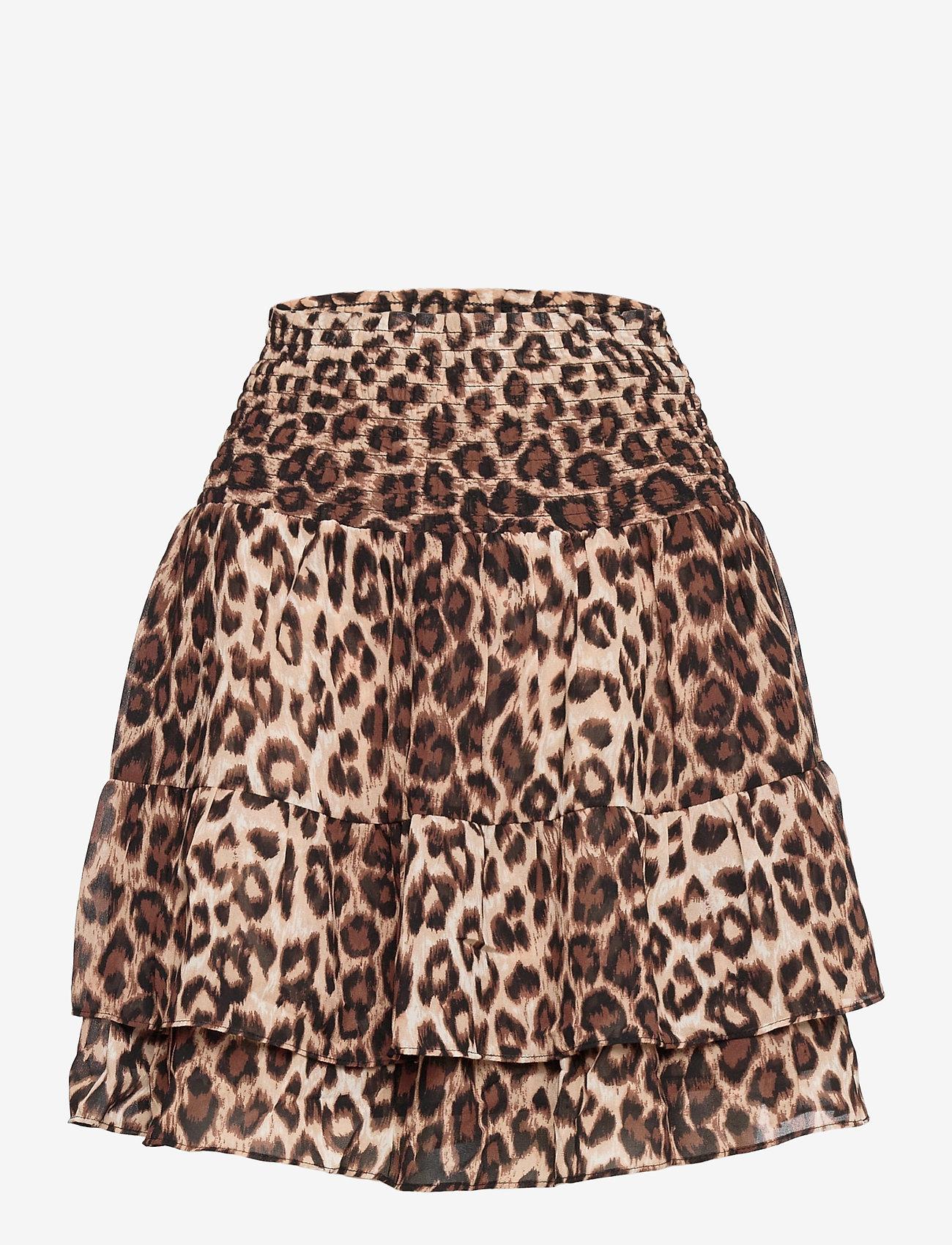 Second Female - Cello Mini Skirt - korta kjolar - cafe au lait - 0