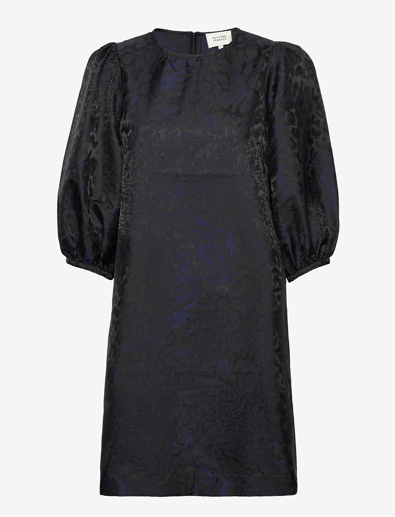 Second Female - This dress is made in an elegant polyester  jacquard quality - cocktailkjoler - black - 0