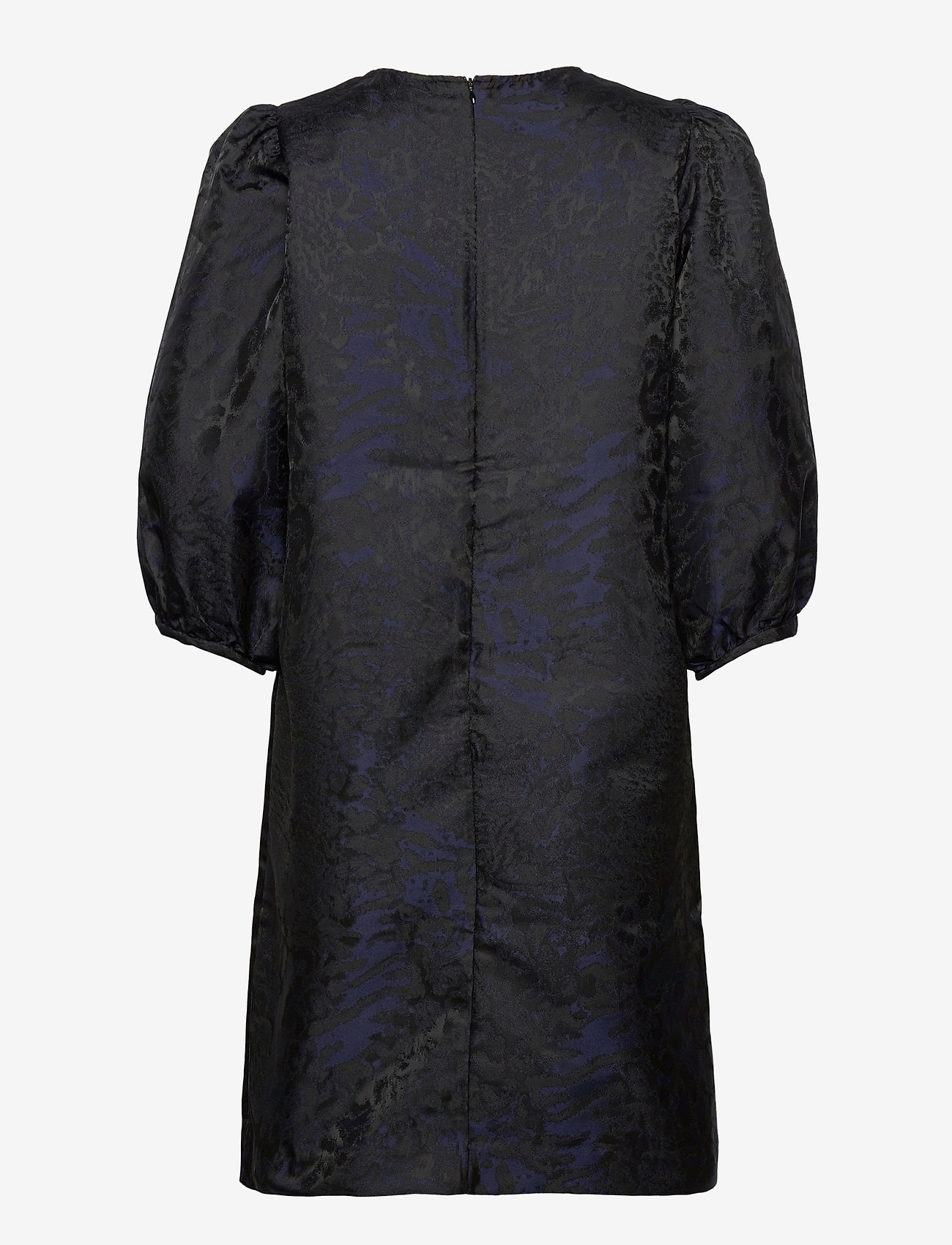 Second Female - This dress is made in an elegant polyester  jacquard quality - cocktailklänningar - black - 1