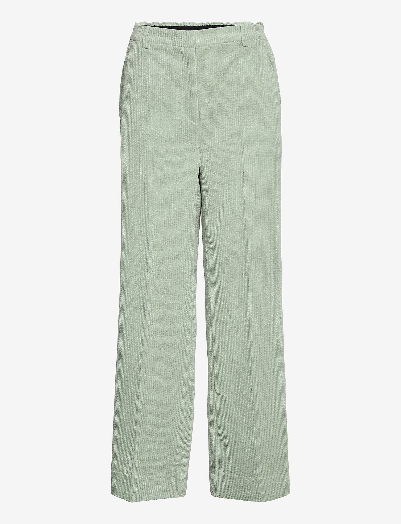 Second Female - Boyas Classic Trousers - vida byxor - green milieu - 1