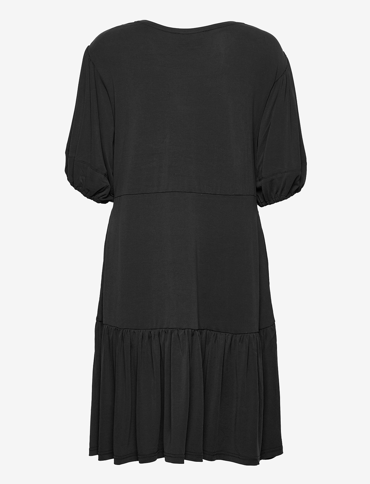 Second Female - Jennifer SS Dress - sommarklänningar - black - 1