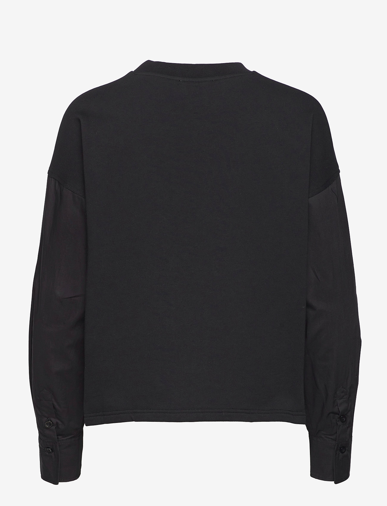 Second Female - Joffe Oversized Sweat - långärmade toppar - black - 1