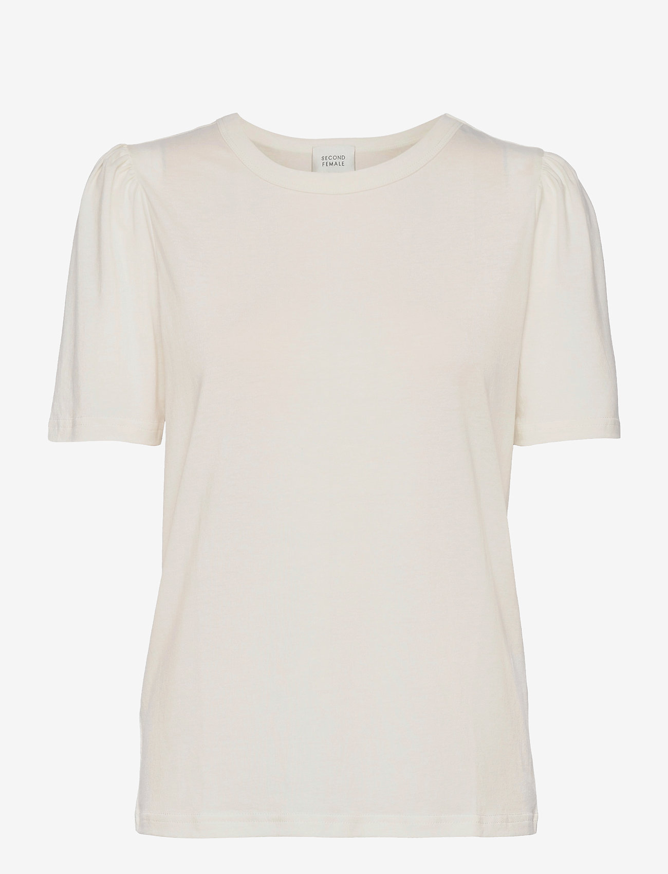 Second Female - Dorph Tee - t-shirts - off white - 0