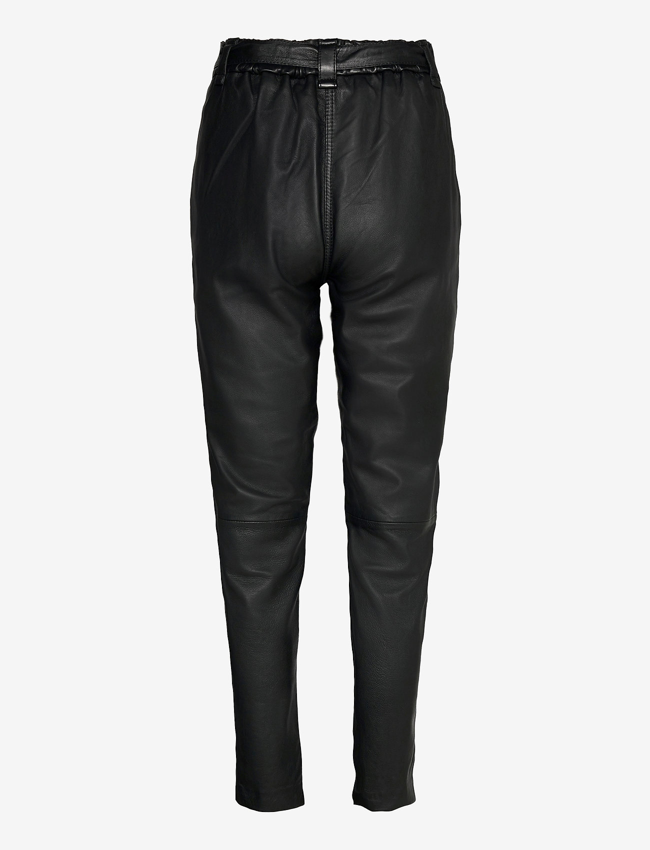 Second Female - Indie Leather New Trousers - skinnbyxor - black - 1