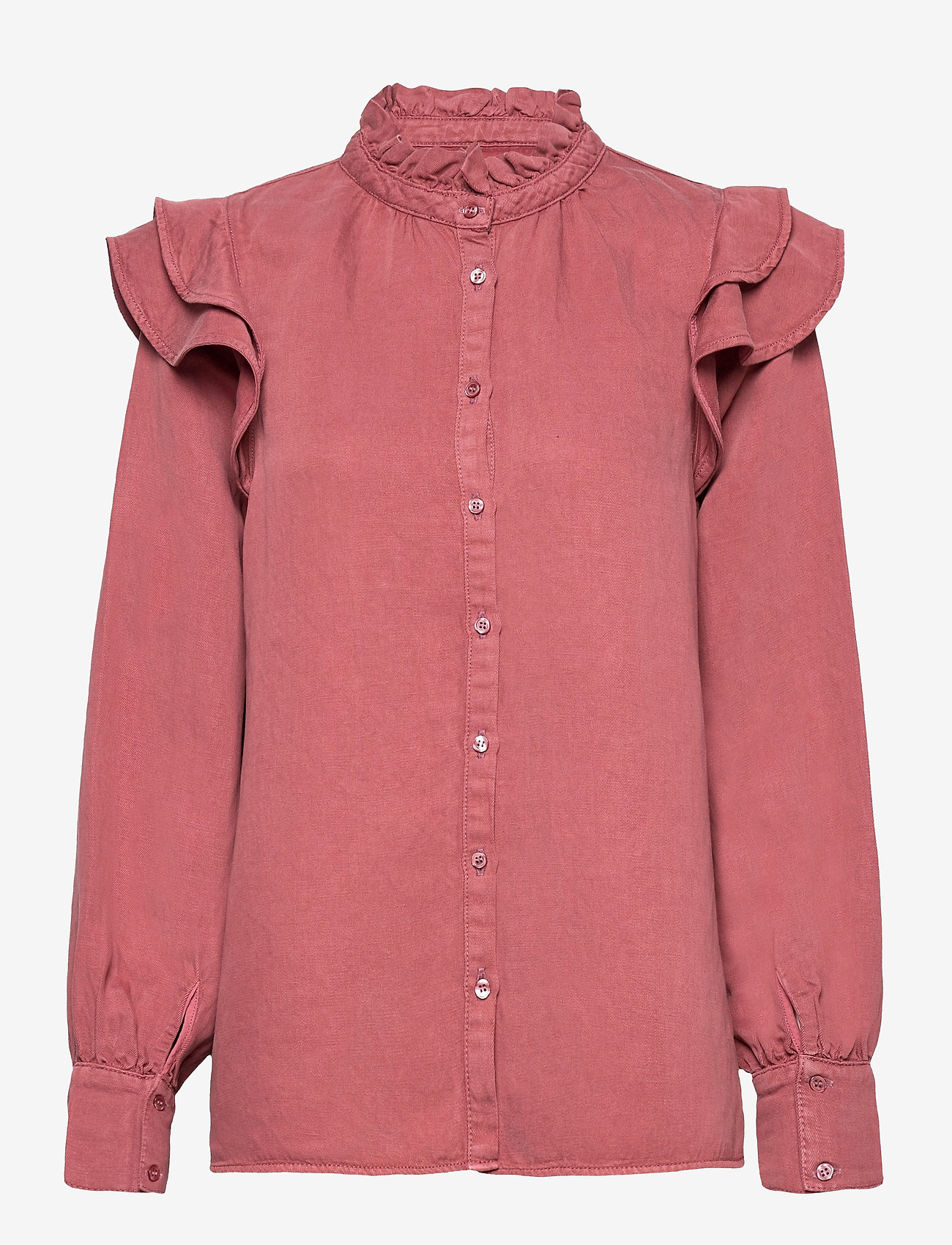 Second Female - Bella New Shirt - langærmede skjorter - roan rouge - 0