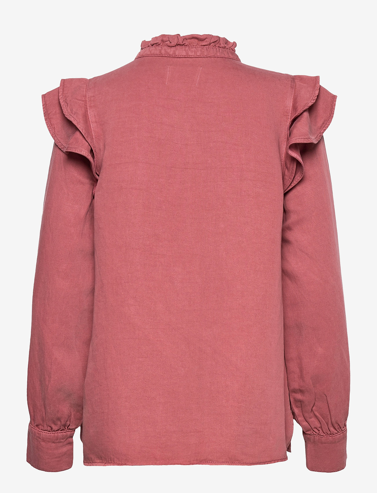 Second Female - Bella New Shirt - långärmade blusar - roan rouge - 1