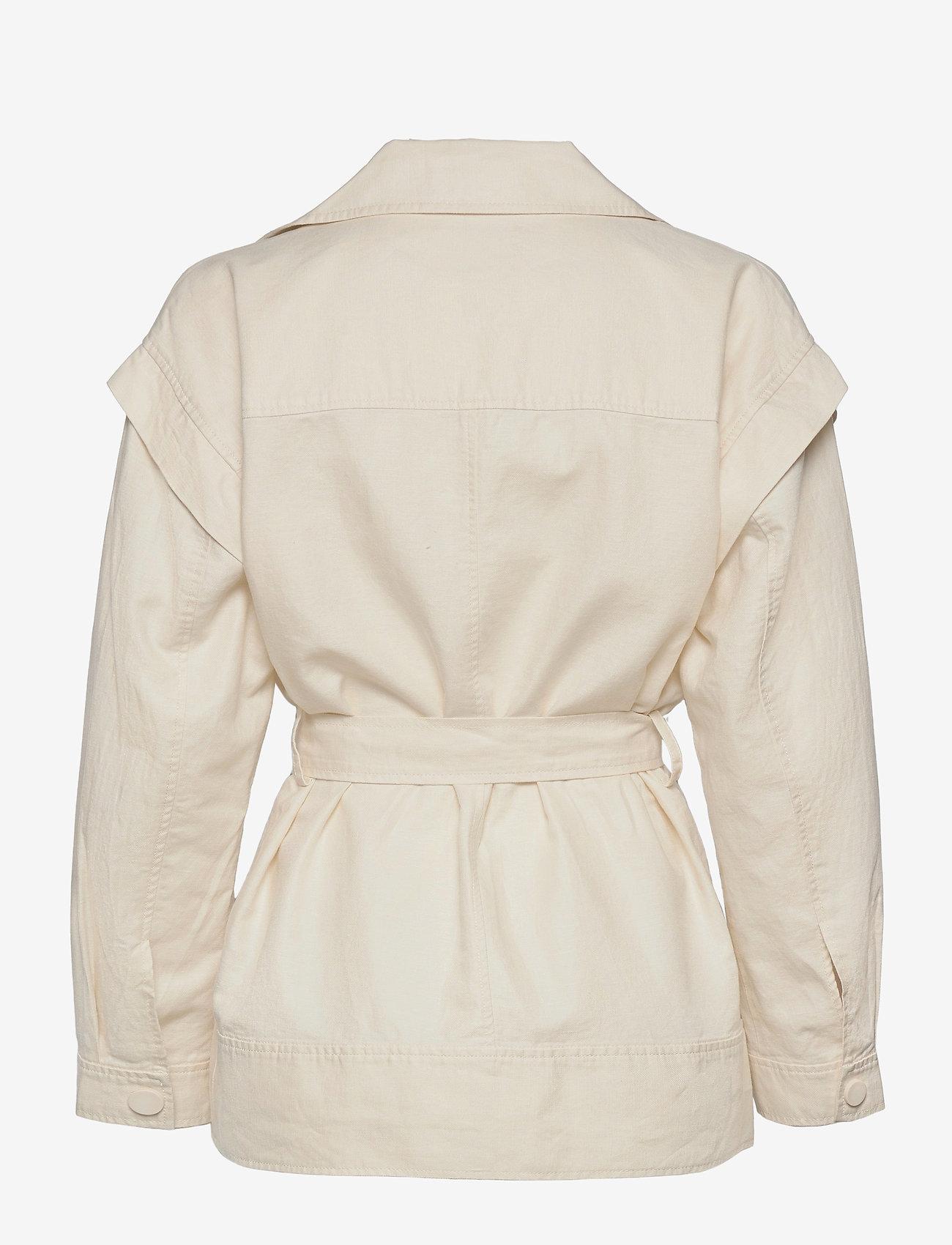 Second Female - Selene New Jacket - tunna jackor - white swan - 1