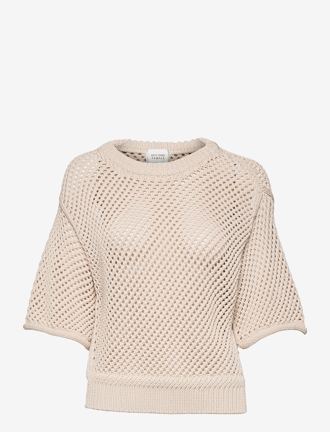 Second Female - Domino Knit - strikkede toppe - natural - 1