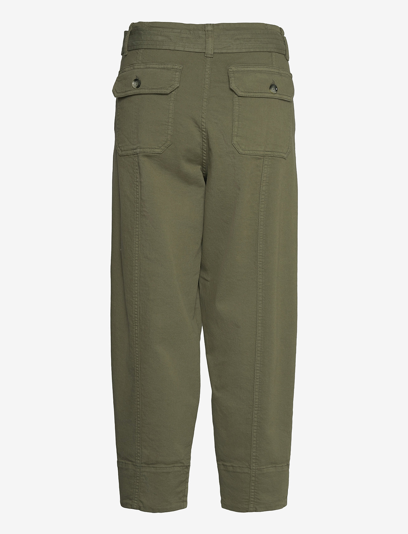 Second Female - Terry Trousers - casual byxor - olive night - 1