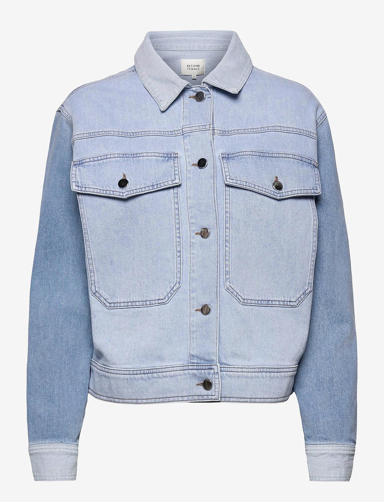 Second Female - Sherman Jacket - jeansjackor - bel air blue - 1