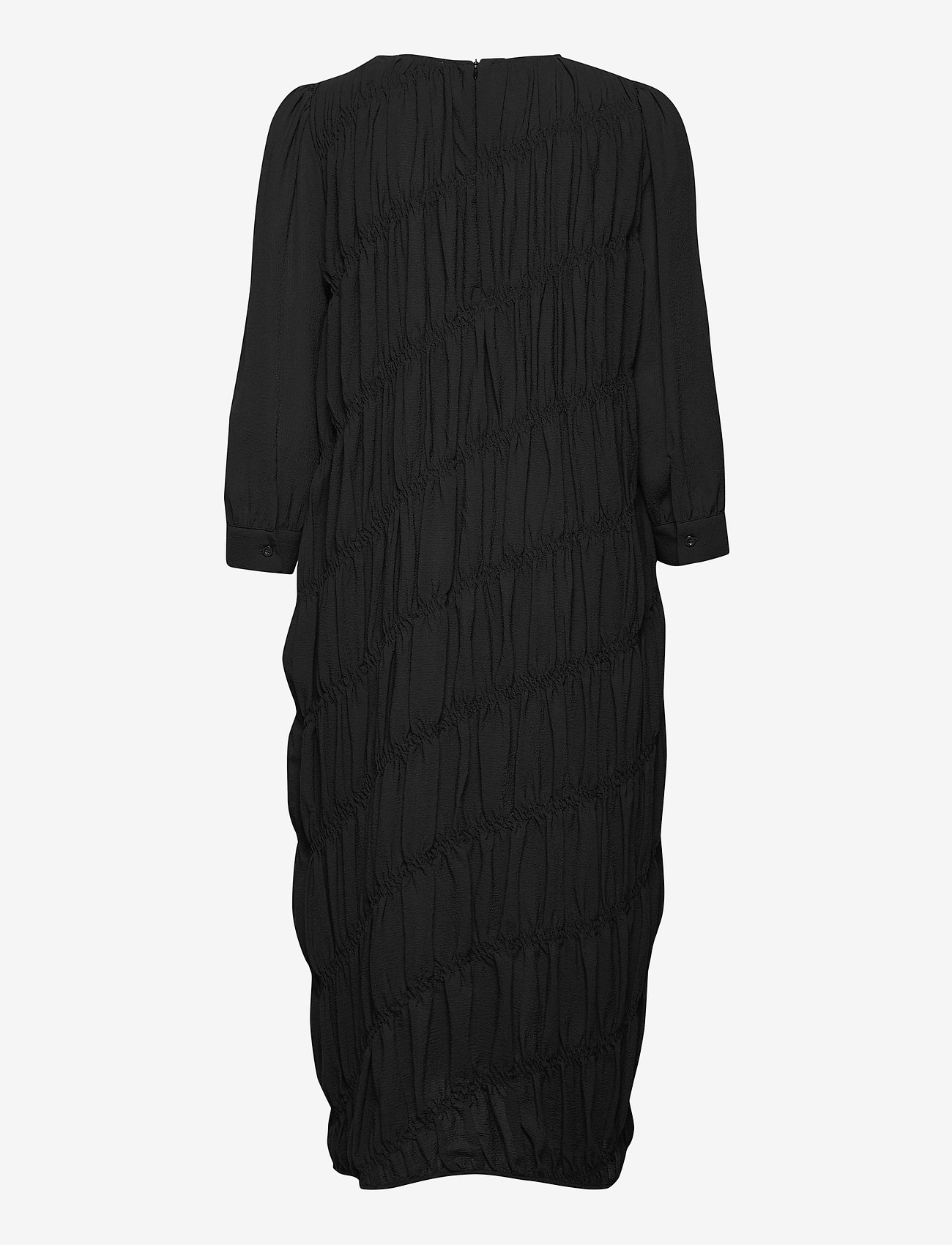 Second Female - Mazla Dress - sommarklänningar - black - 1