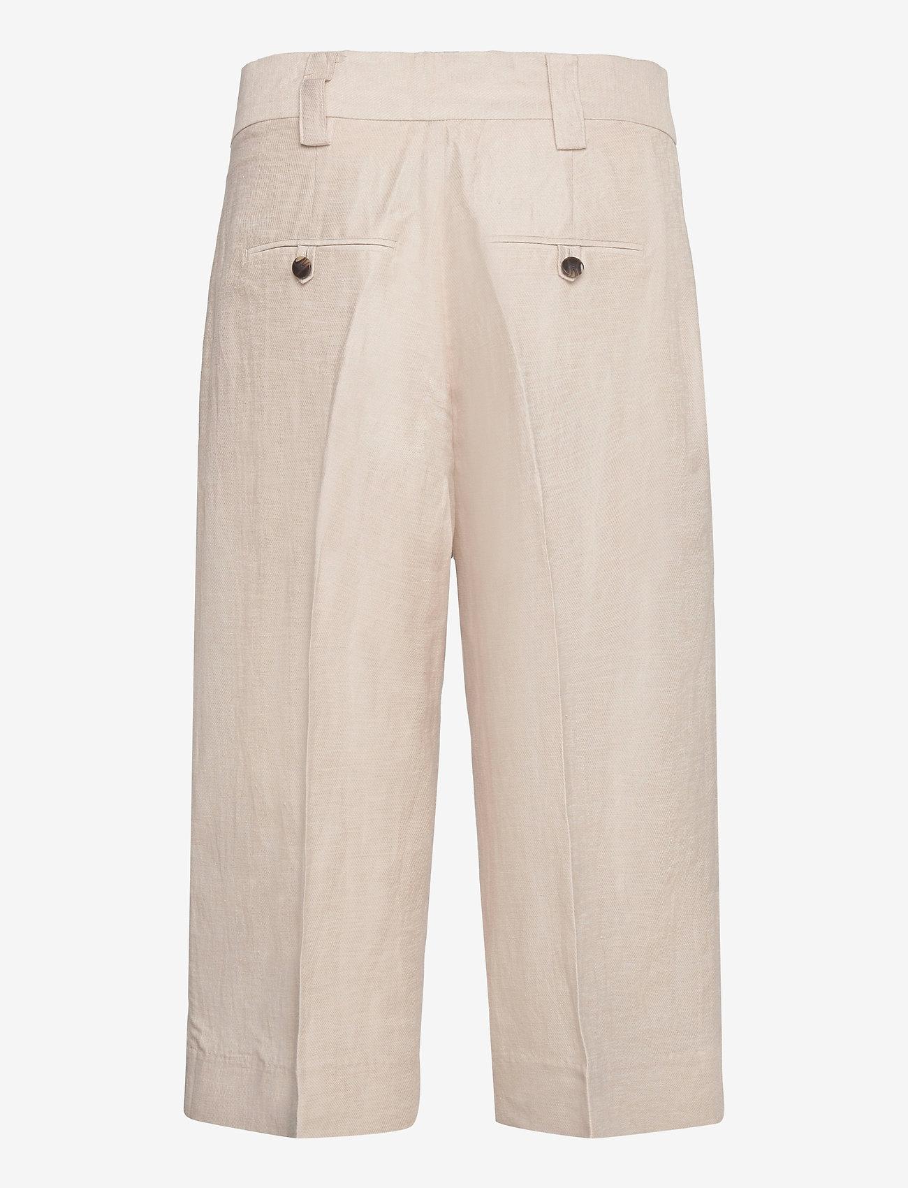 Second Female - Lia Culotte - bukser med brede ben - chateau gray - 1