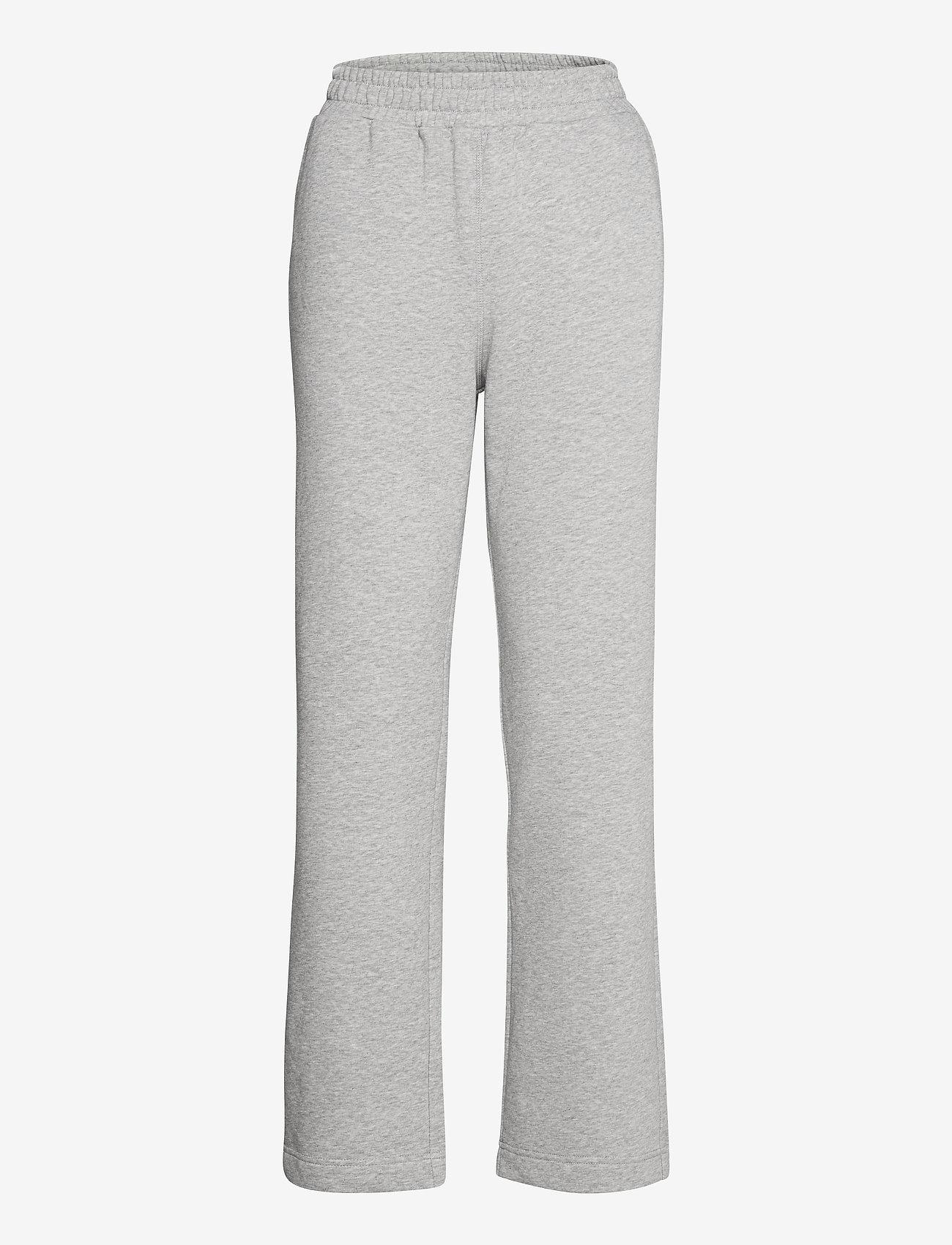 Second Female - Osaka Sweat Pants - sweatpants - grey melange - 1