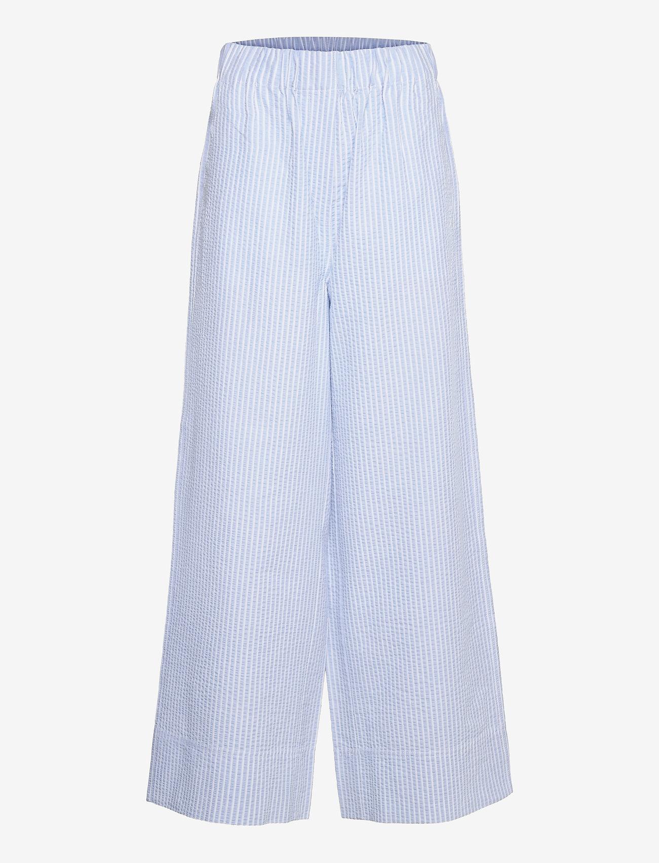 Second Female - Cairo Trousers - bukser med brede ben - bel air blue - 1