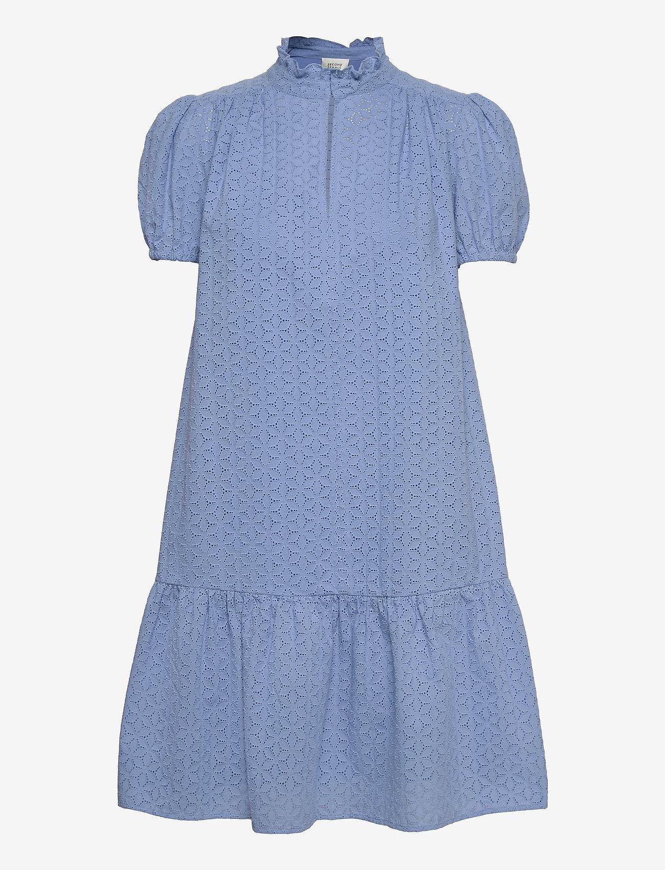 Second Female - Bilbao Dress - sommarklänningar - bel air blue - 1