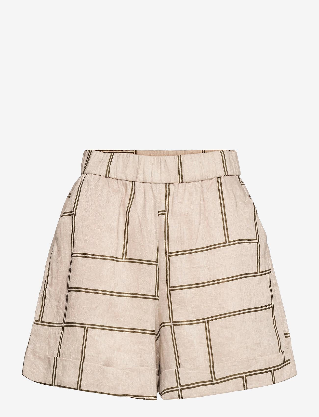 Second Female - Laval Shorts - casual shorts - parchment - 1