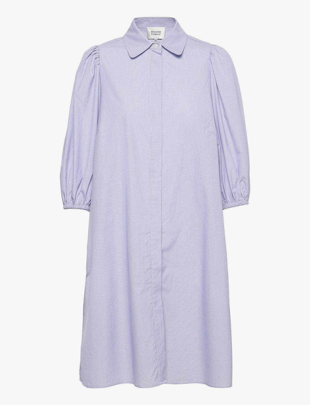 Second Female - Moscow Dress - vardagsklänningar - bel air blue - 1