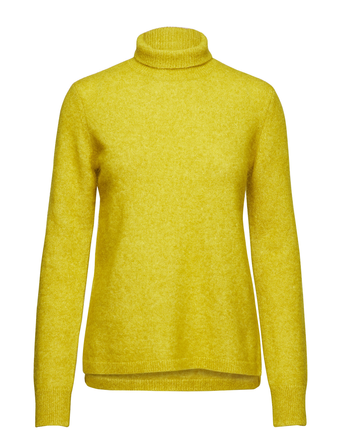 Second Female Brook Knit Rib New T-neck - ANTIQUE MOSS