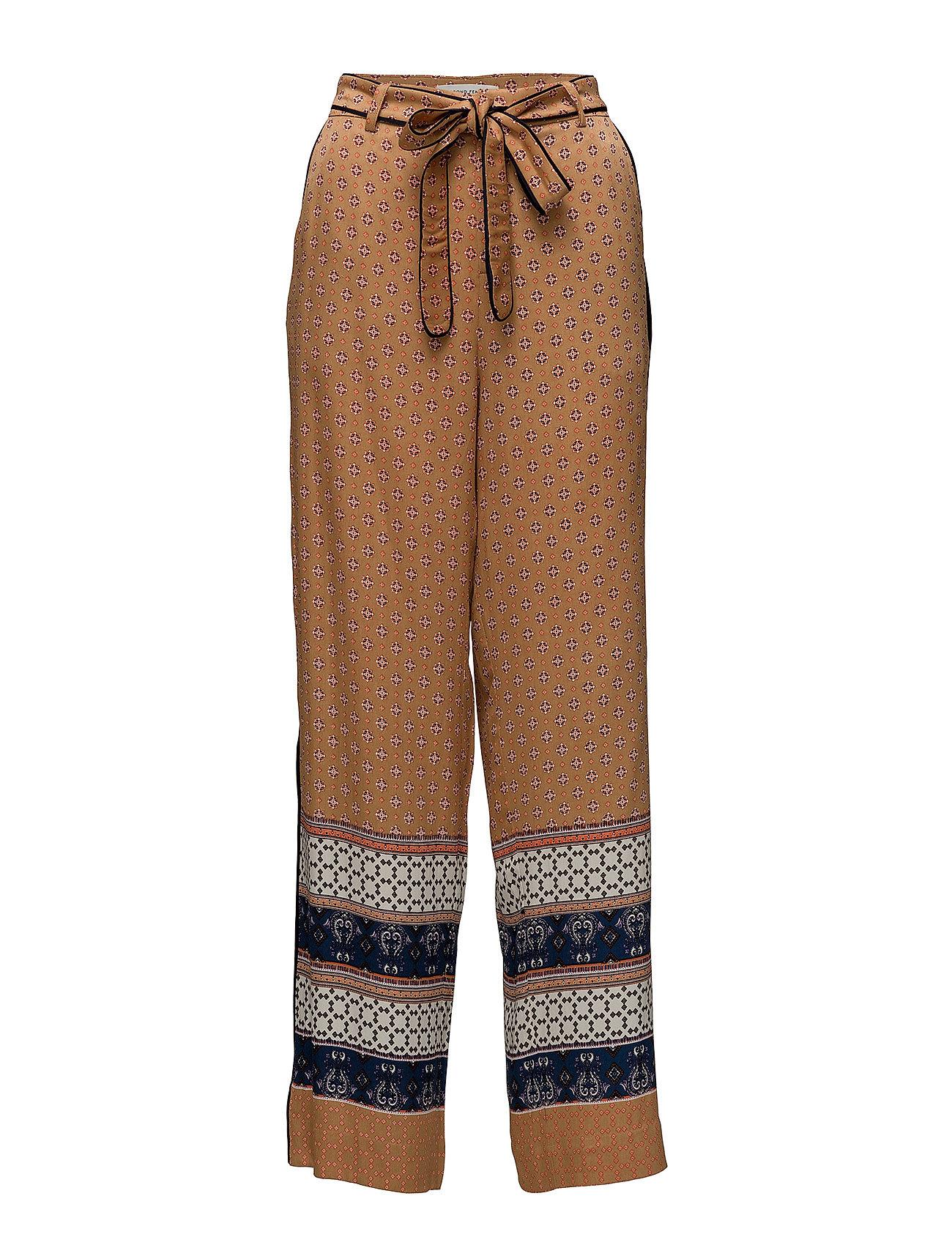 Second Female Vavara HW Trousers - BONE BROWN