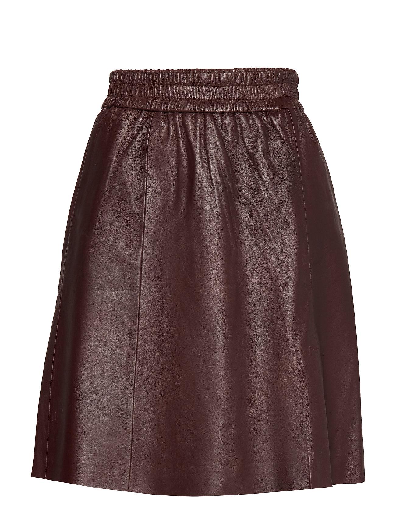 Second Female Melvin Leather Skirt - PORT ROYALE