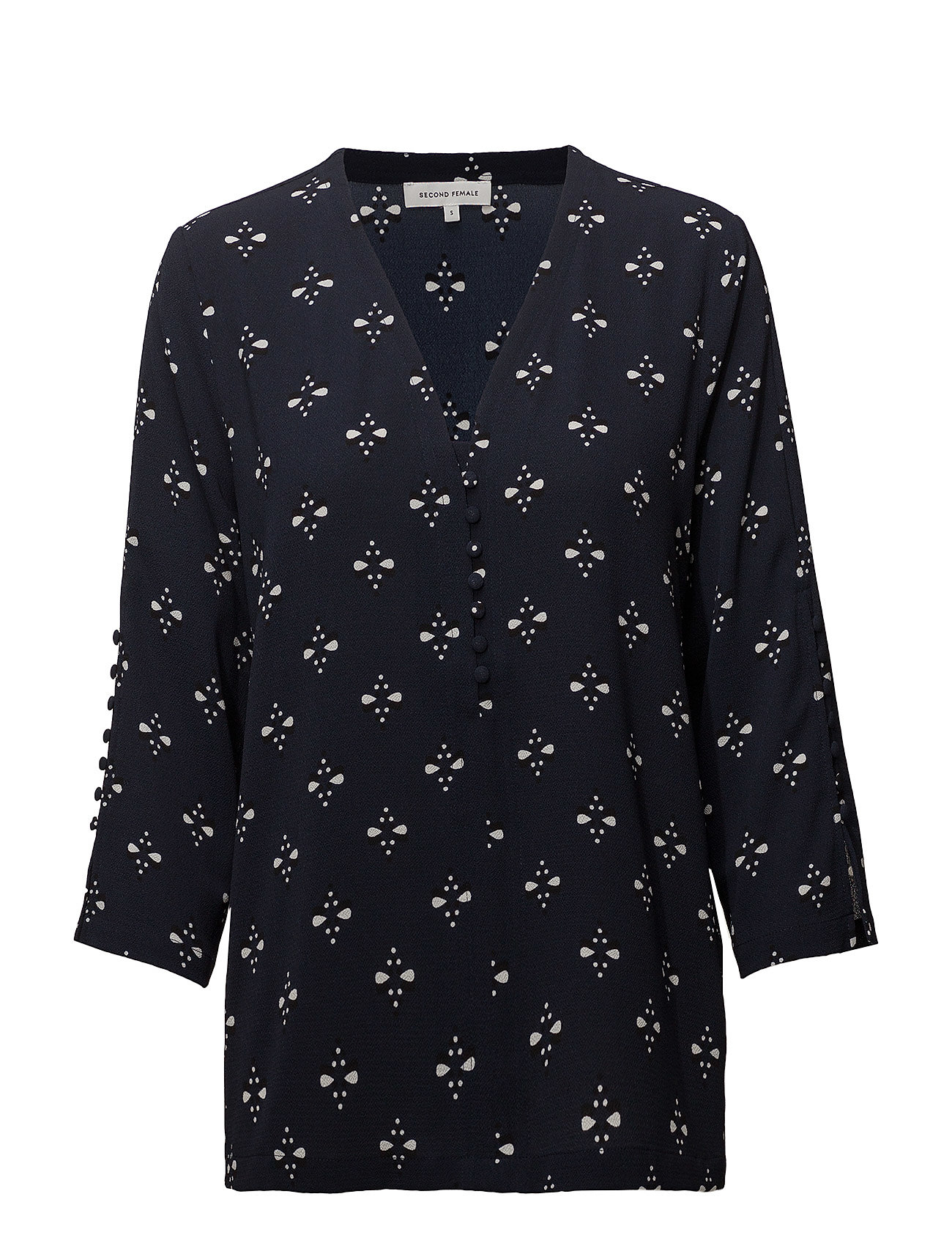 Second Female Sanja Blouse - NAVY BLAZER