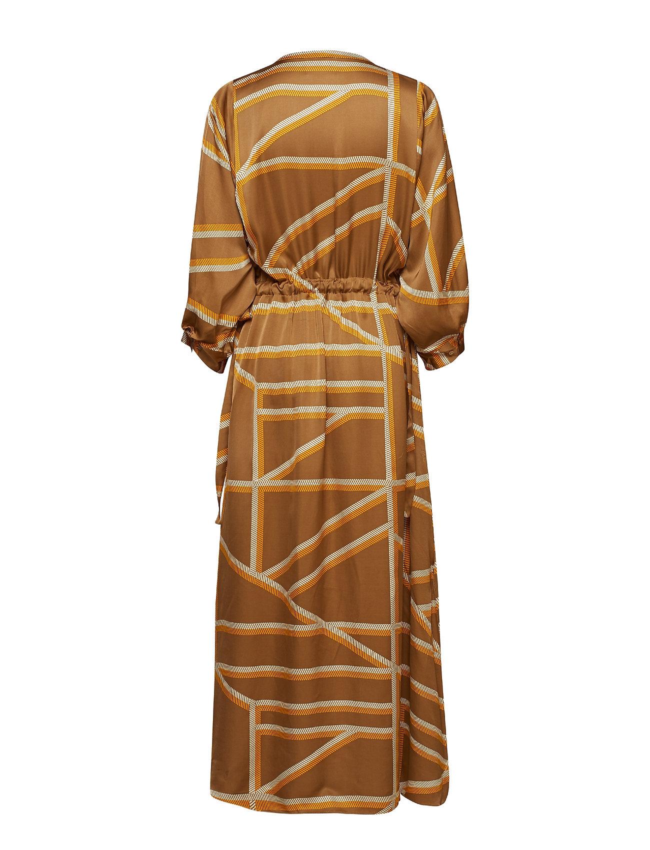Second Female    Sonja LS Maxi Dress  - Kleider    ERMINE