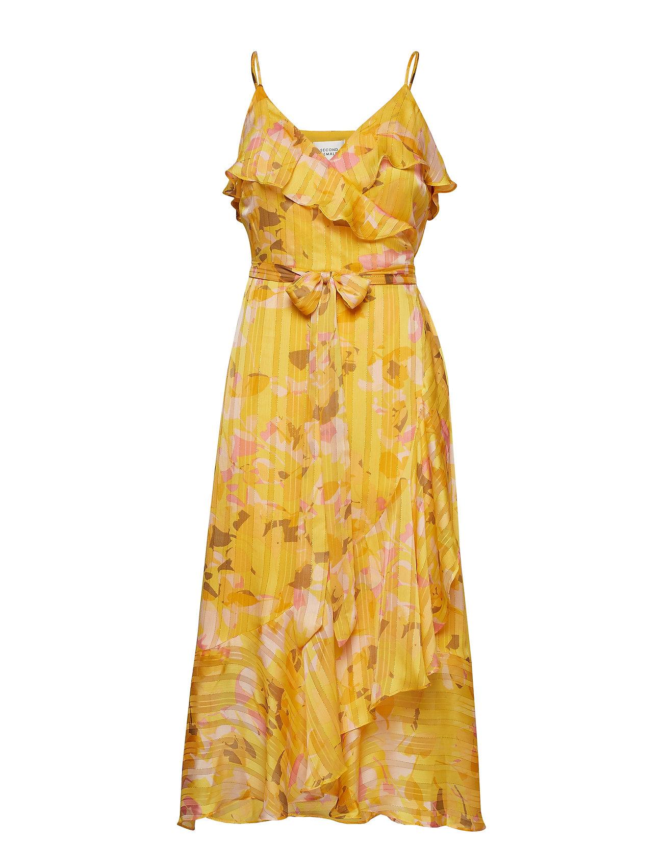 Second Female Heat Wrap Maxi Dress
