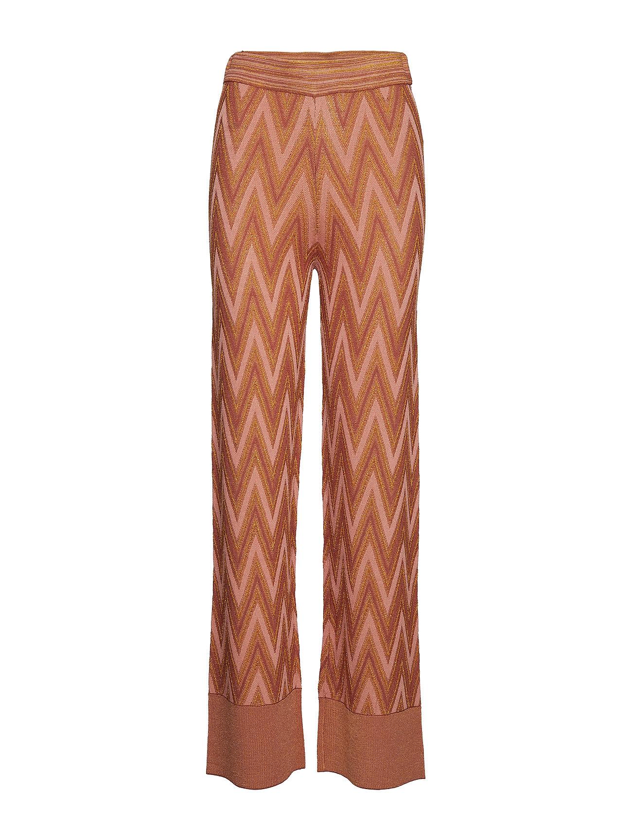 Second Female Bea Knit Trousers - AUTUMN LEAF