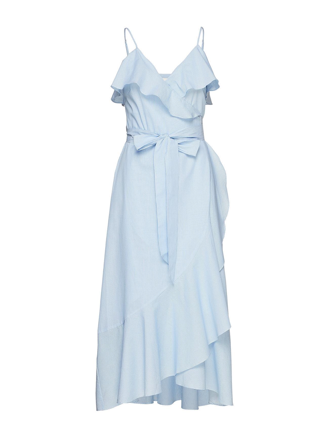 Second Female Veras Strap Wrap Dress - LITTLE BOY BLUE