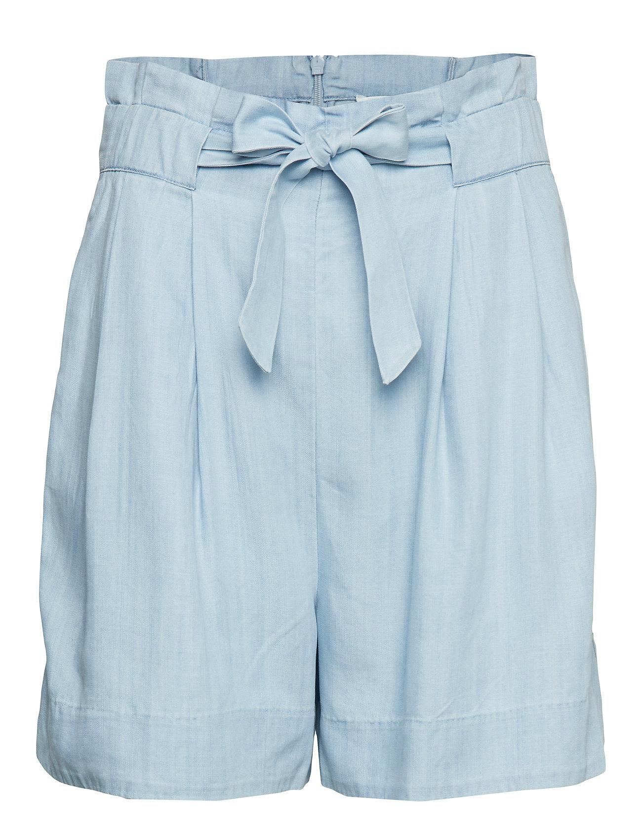 Second Female Sophia Shorts - LIGHT BLUE DENIM