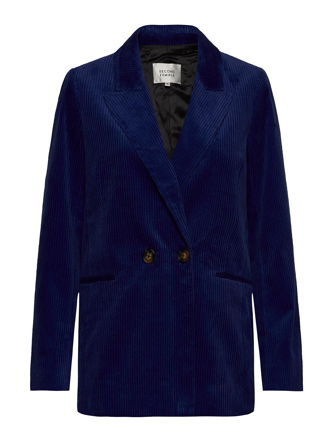 Second Female Donella Blazer - MAZARINE BLUE