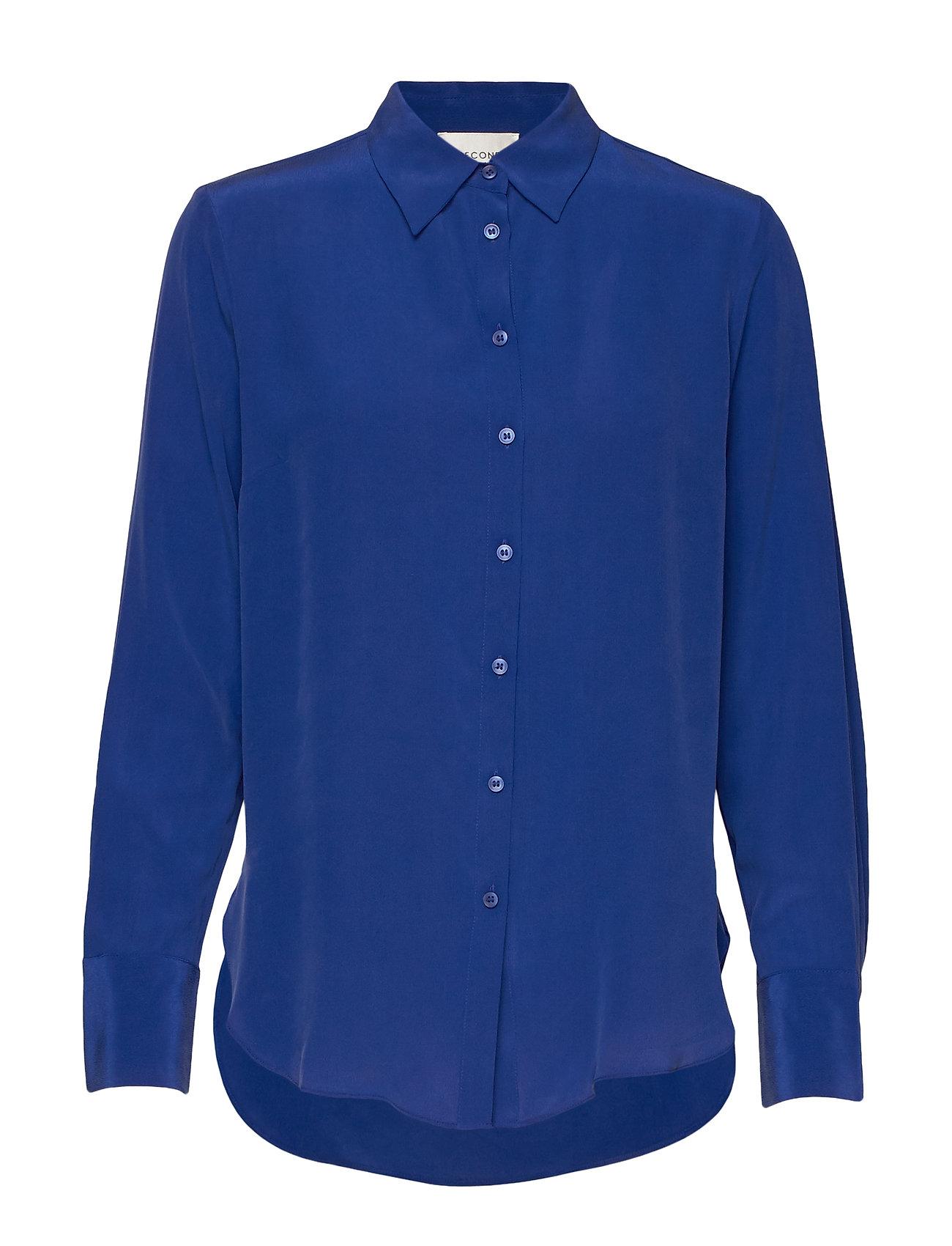Second Female Thori Shirt - MAZARINE BLUE