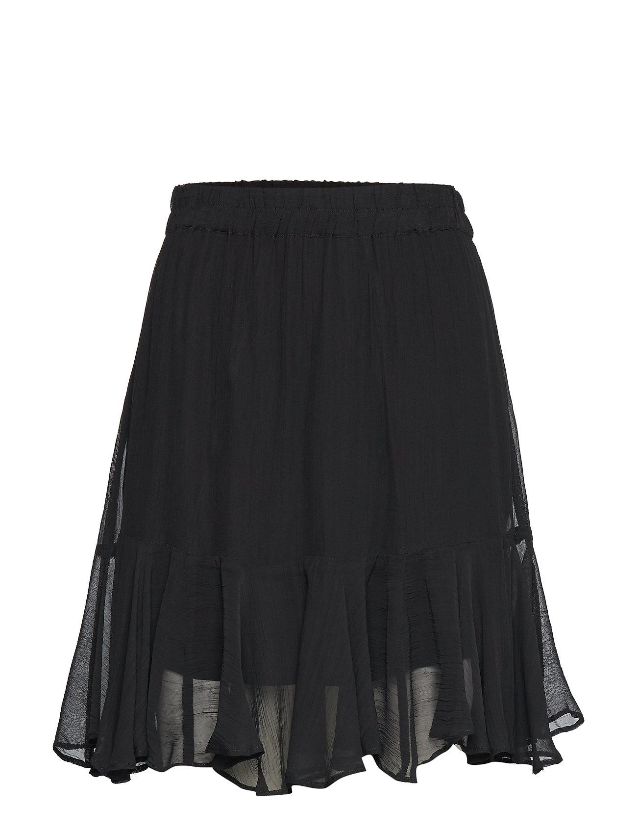 Second Female Tul MW Skirt - BLACK