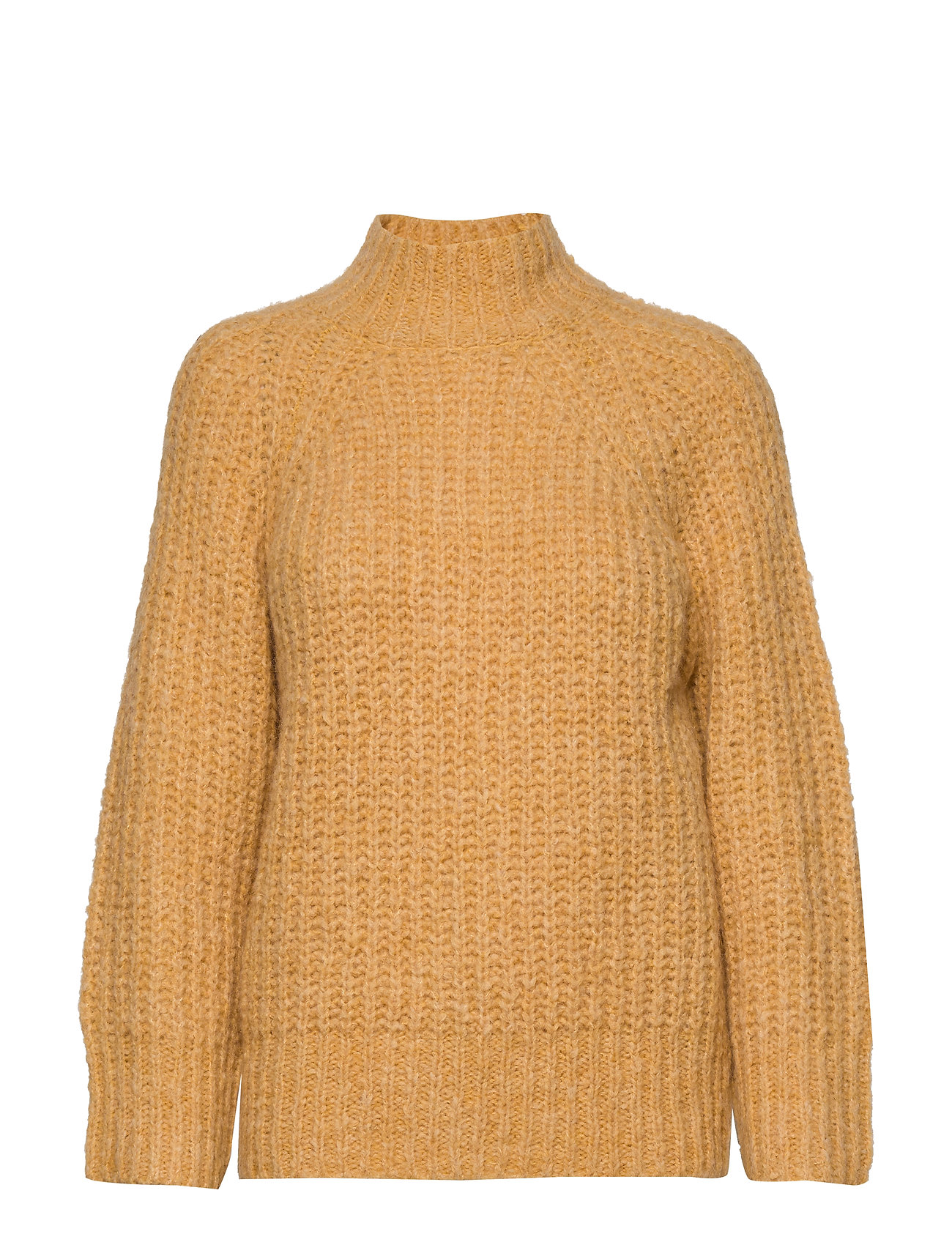 Second Female Canis Knit O-Neck - GOLDEN ROD