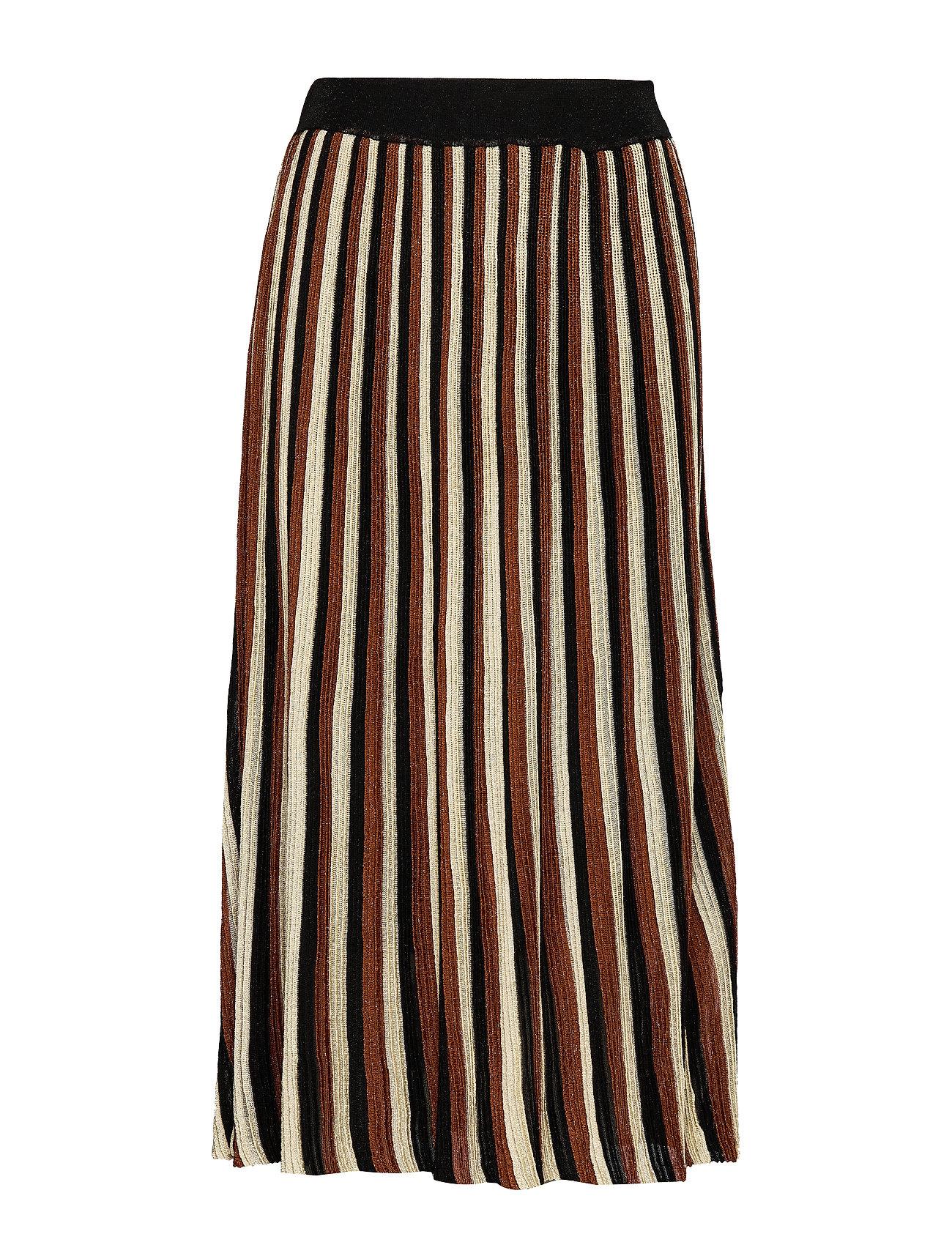 Second Female Lepus Knit HW Skirt - TORTOISE SHELL