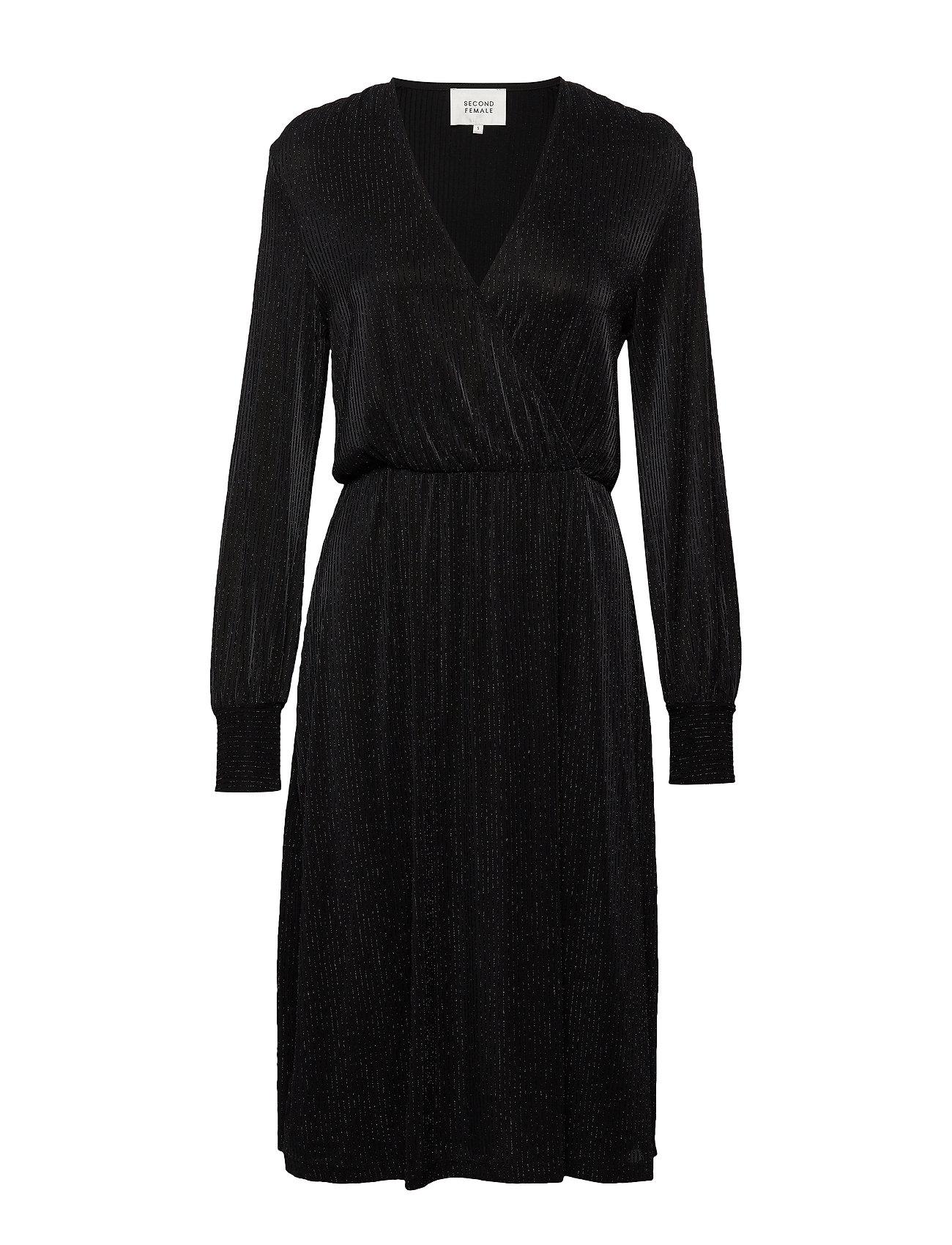 Second Female Zeta Dress - BLACK