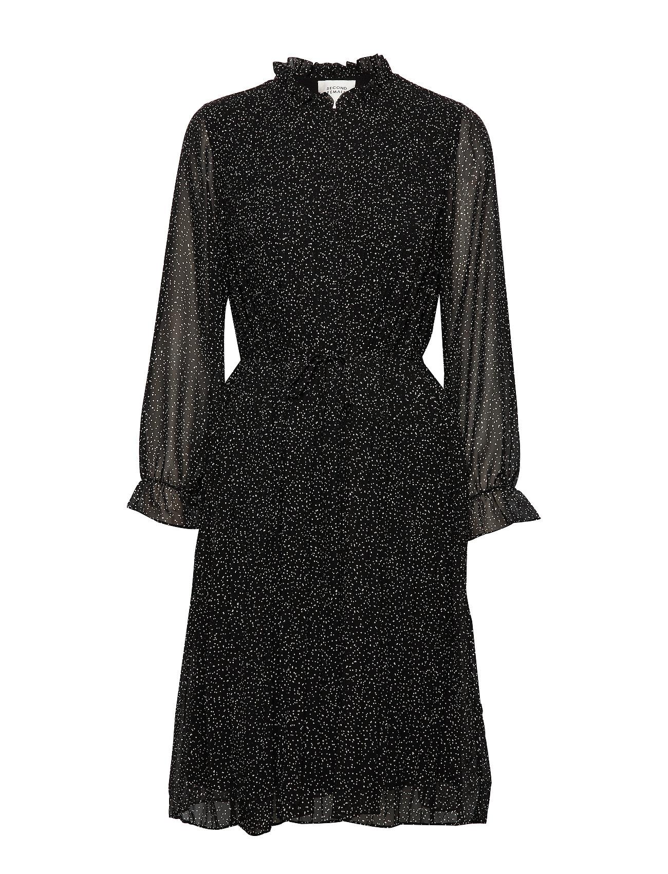 Second Female Moons Dress - BLACK