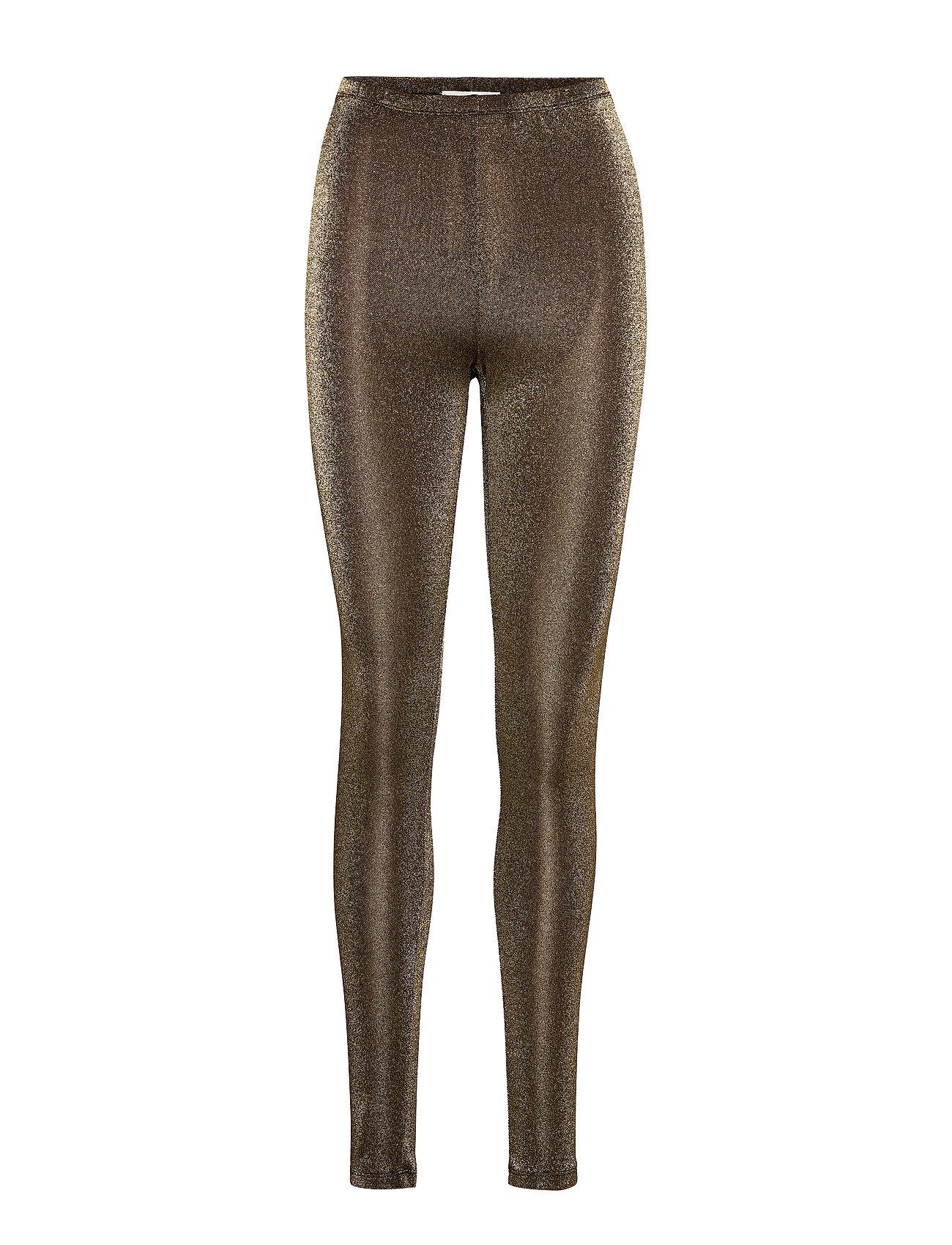 Second Female Glitter Leggings - BLACK