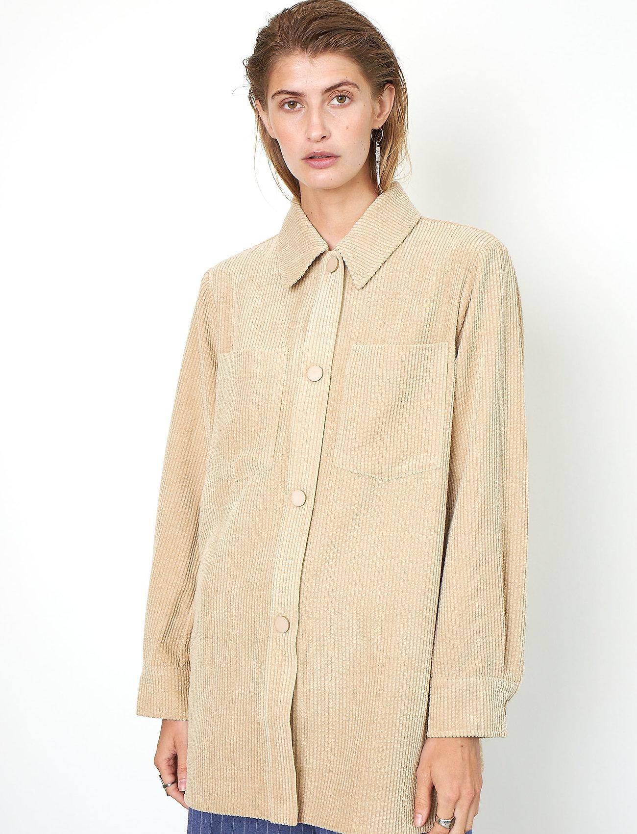 Second Female - Boyas Jacket - overshirts - humus - 0